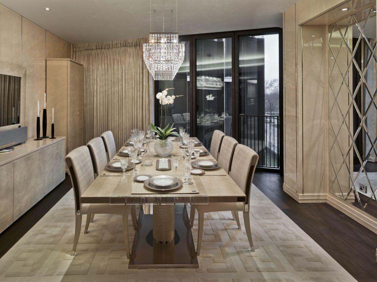 fendi casa bernini table and elisa chair lb etkező pinterest