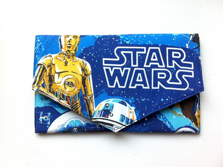 Star Wars Clutch Bag. £25.00, via Etsy.