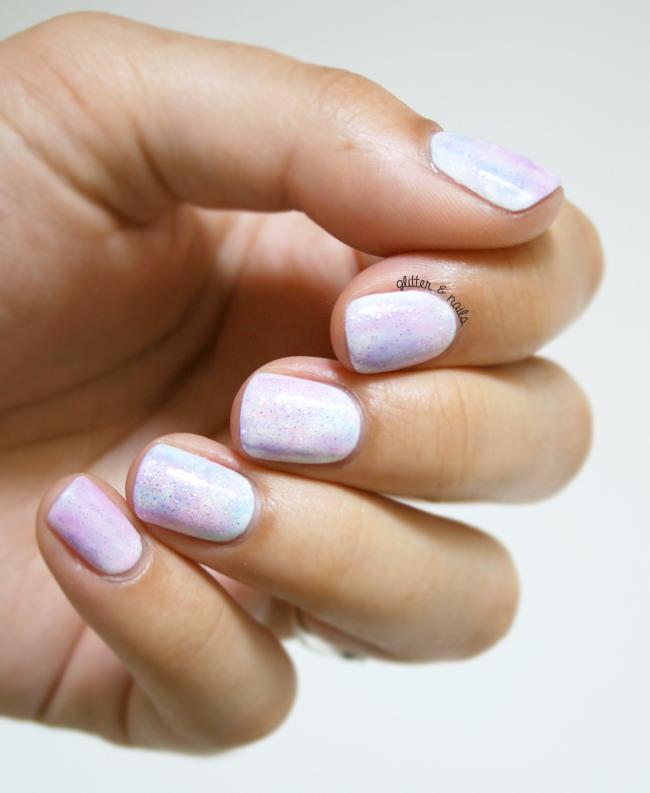 Fairytale Nail Art // OPI Sheer Tints | OPI
