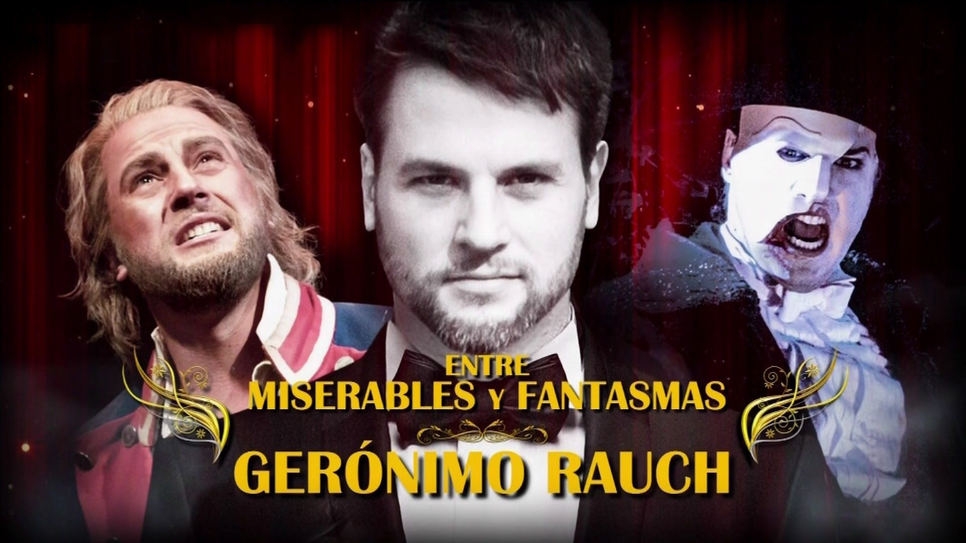 """Gerónimo Rauch """"Entre miserables y fantasmas"""" (Completo - HD)"""