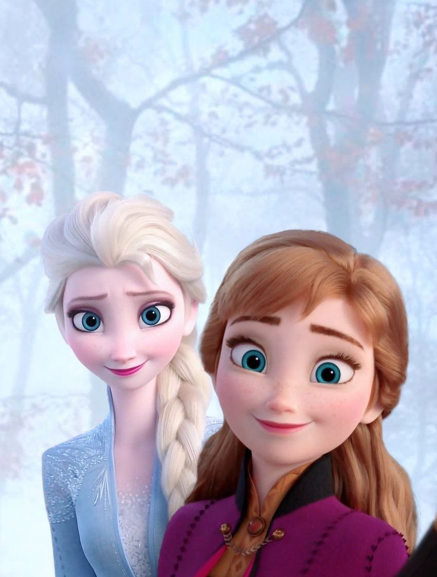 The Queen S Admirer Elsa And Anna From Frozen 2 Piano Songbook Source Disney Princess Frozen Frozen Disney Movie Disney Princess Drawings