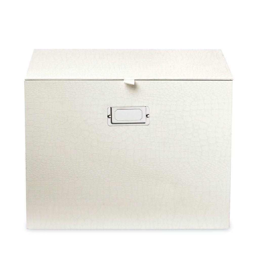 Realspace® File Box, Cream   Stationery   Box, Office depot