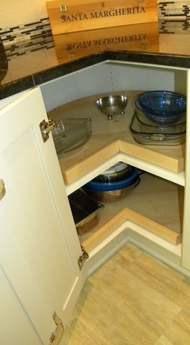 Kitchen Cabinets - corner pull outs