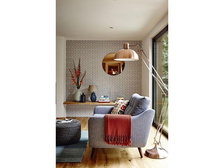 Lampada In Rame Design : Revival rame lampada da terra copper design style valeria
