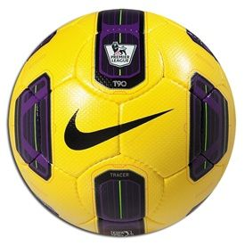 Nike Total 90 Tracer Epl Soccer Ball Yellow Purple Soccer Ball Soccer Nike Soccer Ball