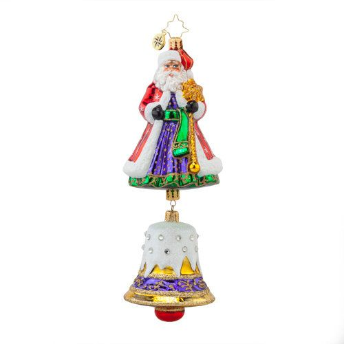 Christopher Radko Ornament - Bell Chime Nicholas