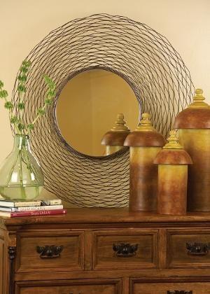 Edgy Round Mirror Fanciful Wall Mirrors Opulentitemscom Home - Unique-wall-mirrors-from-opulent-items