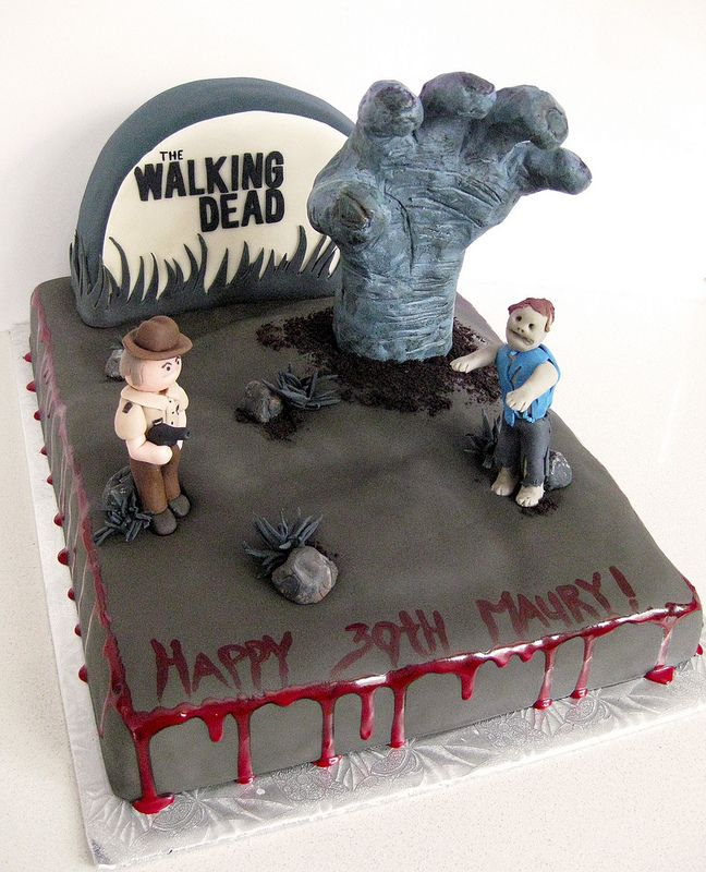 The Walking Dead Cake Totally Want Daryla Instead