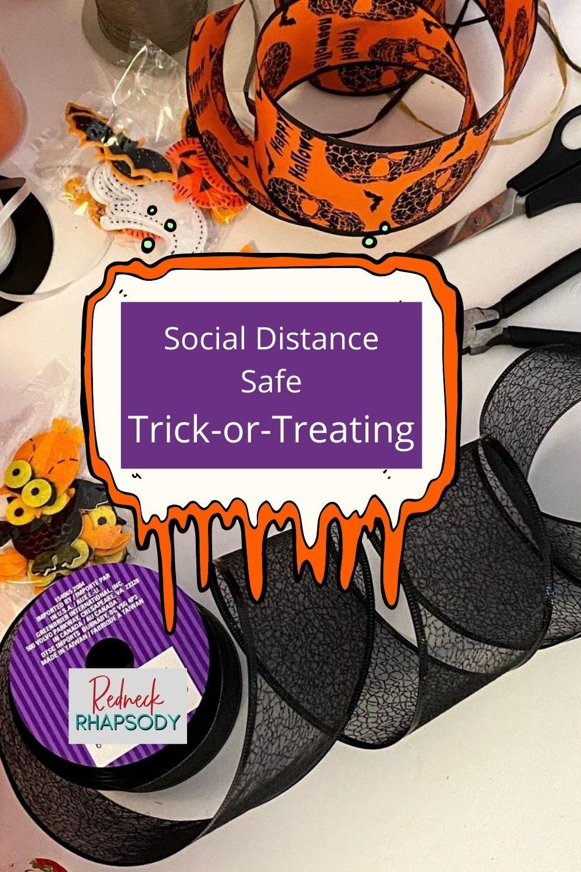 Simple, Easy DIY Halloween for Social Safe Trickor