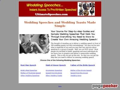 Instant Wedding Speeches \u2013 Wedding Toasts \u2013 Wedding Speech \u2013 Wedding