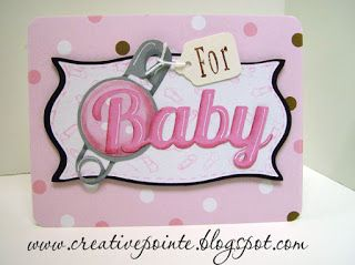 Baby Card--SVG Baby Heading