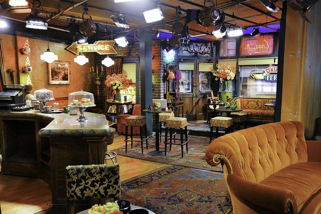 Central Perk Central Perk Interior Design Central