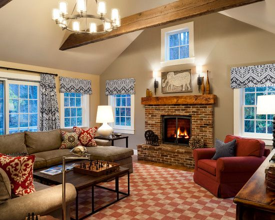Wonderful Fireplaces In The Dining Room For Cozy And Warm: This Old House Bedford