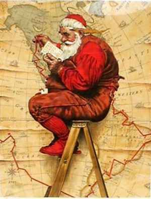 Joyeux Noel Histoire Des Arts.Pere Noel De Norman Rockwell Norman Rockwell En 2019