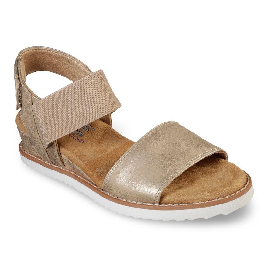 09e2a5a0cde Skechers BOBS Desert Kiss Women's Sandals, Size: 5.5, Blue in 2019 ...