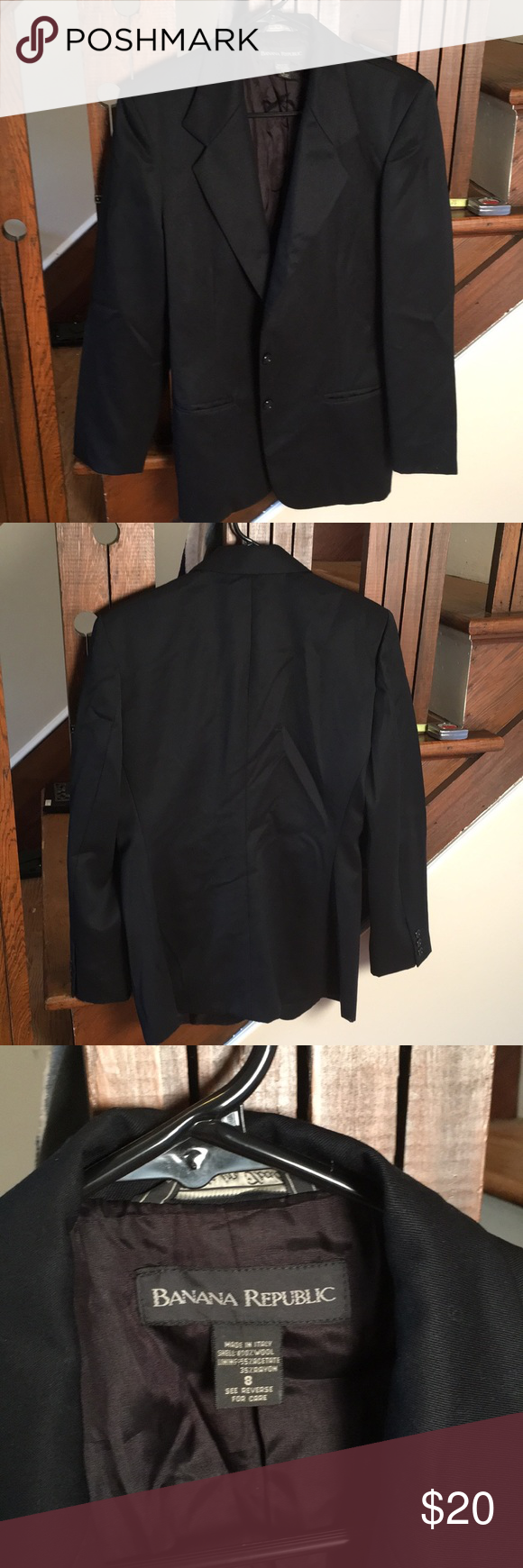 Banana Republic Blazer Some Picks Black Dress Jacket Clothes Design Blazer [ 1740 x 580 Pixel ]