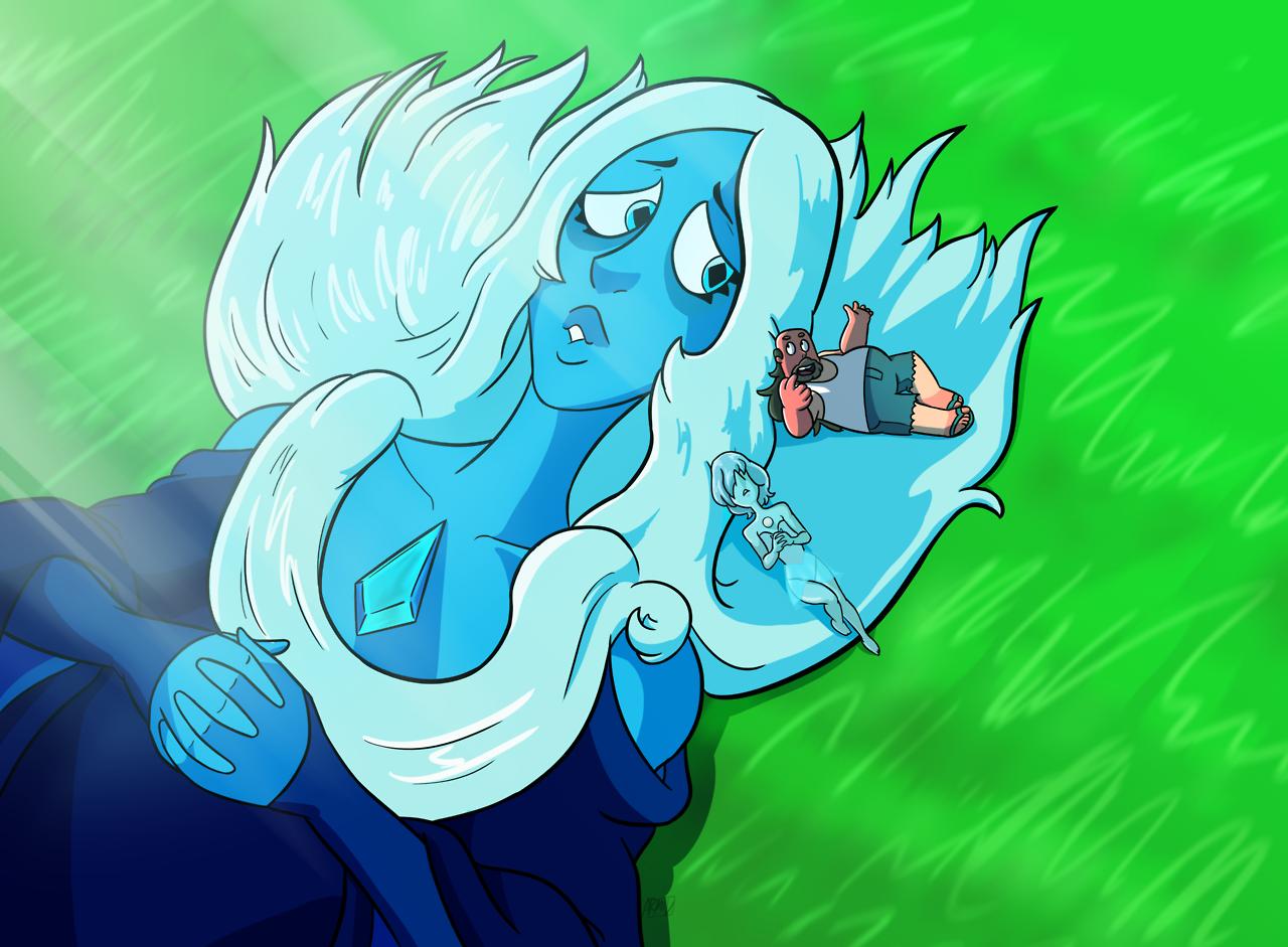 Diamante Azul, Perla Azul Y Greg