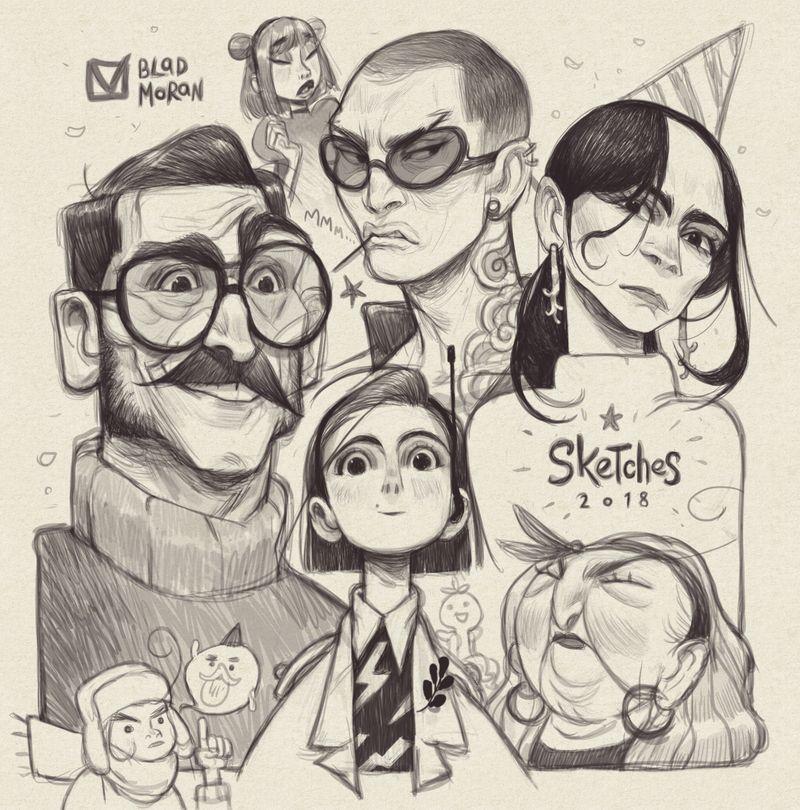 Sketches_04 by BladMoran on DeviantArt