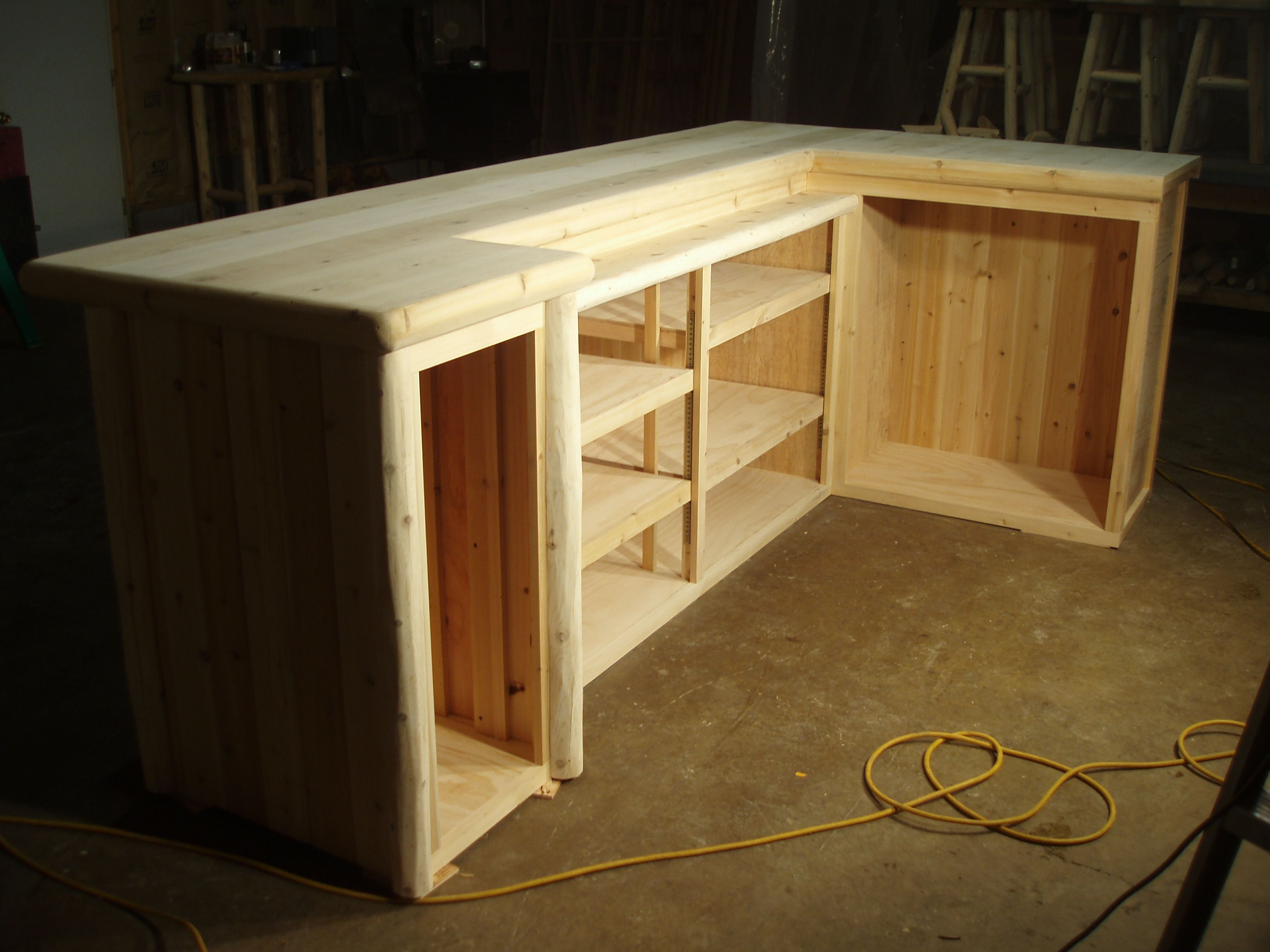 building my basement bar - Woodworking Talk - Woodworkers Forum ...