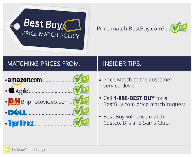 Holiday Price Matching 101 Best Buy Cool Things To Buy The Krazy Coupon Lady Money Saving Tips