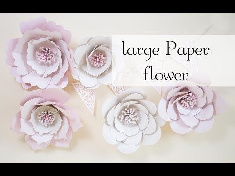 Giant Paper Flowers Free Template Paper Flower Patterns Paper