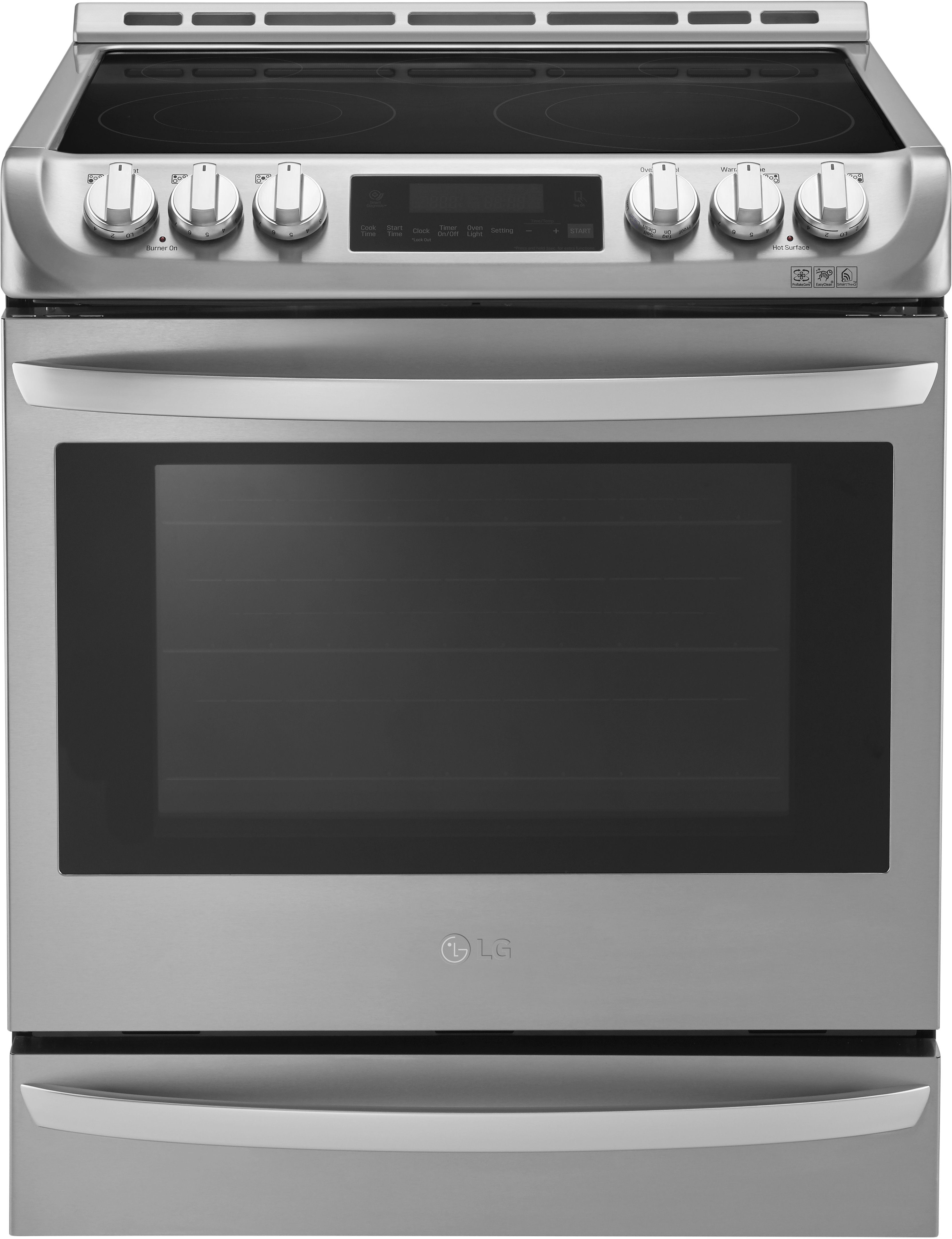 Electric Range With Microwave Drawer Stainless Steel
