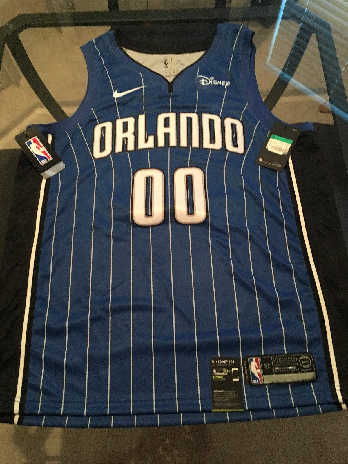 748cc5b96bb BRAND NEW AUTHENTIC Disney NIKE Orlando Magic JERSEY Aaron Gordon XL 52  (eBay Link)