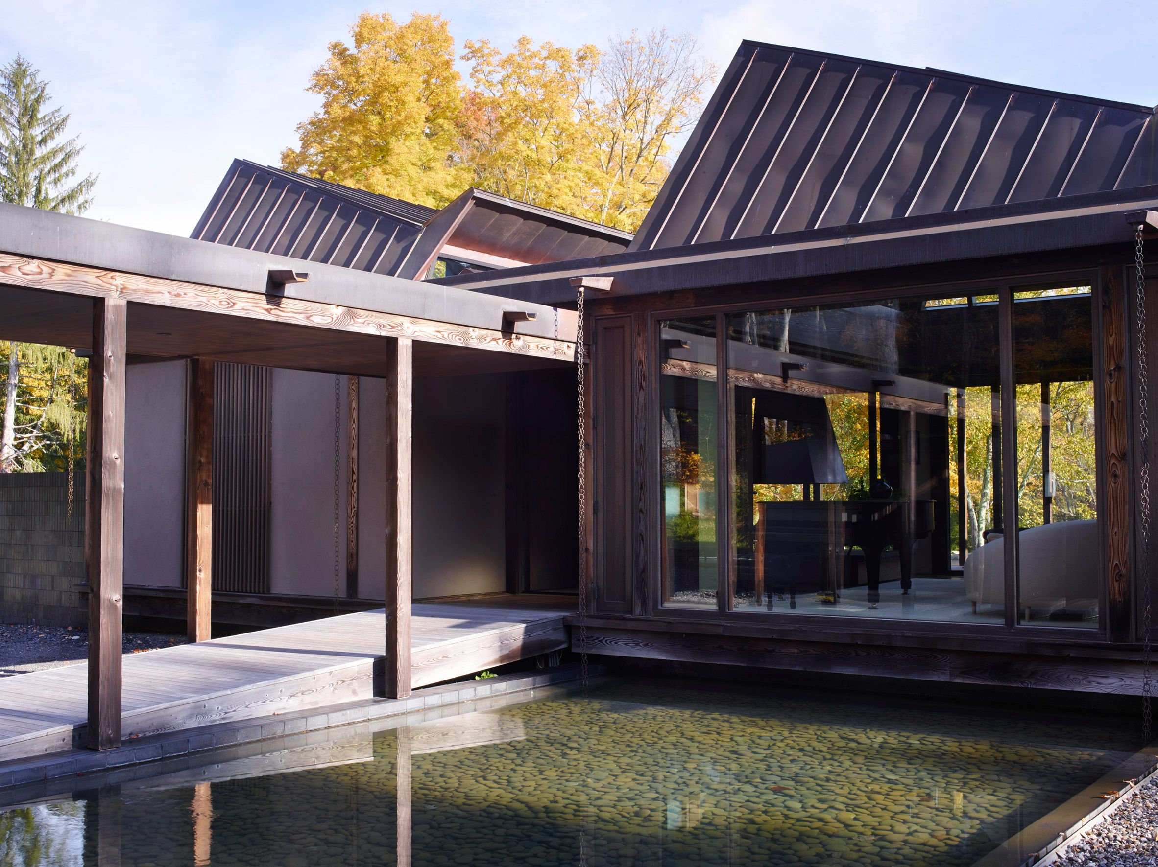 Pound Ridge House By Tsao Mckown Architecture Japanese