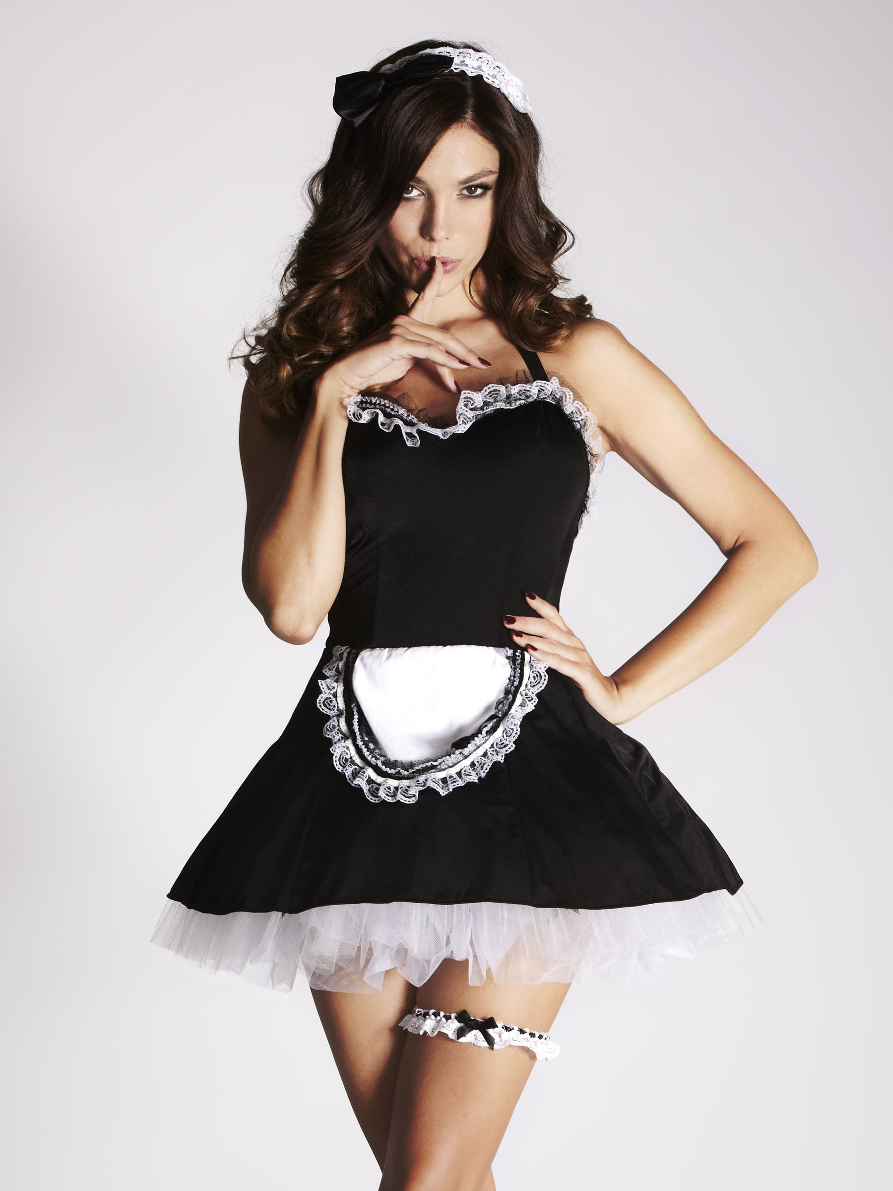 White apron fancy dress - Mimi Maid Outfit Embrace Your Sexy Side In The Mimi Fancy Dress Maid Outfit