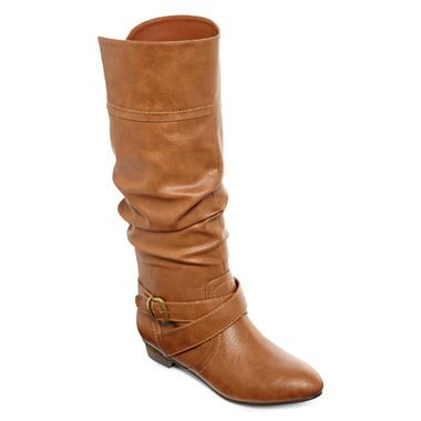 3a697b23c8 Olsenboye® Carrie Slouch Boots - jcpenney 55 | Shoes | Boots, Shoes ...