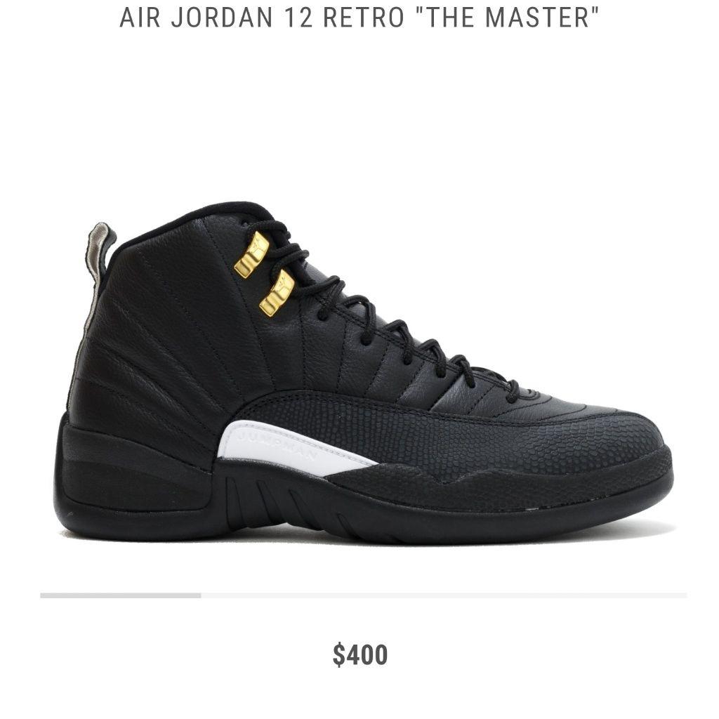 Jordan Shoes | Air Jordan Retro 12s | Color: BlackGold