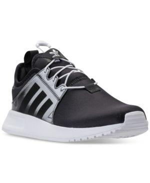 00354b4997fcd7 adidas Boys  Originals Xplr Lentic Casual Sneakers from Finish Line -  BLACK WHITE BLACK 5.5