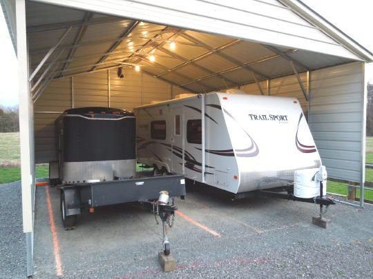 1 Simple Trick To Protect Your Outdoor RV Storage Port From Nesting Birds & 1 Simple Trick to Protect Your Outdoor RV Storage Port From Nesting ...
