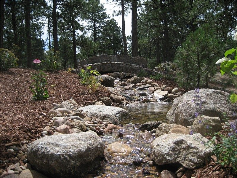 Garden Ideas Colorado stream landscaping pond and waterfall accent landscapes colorado