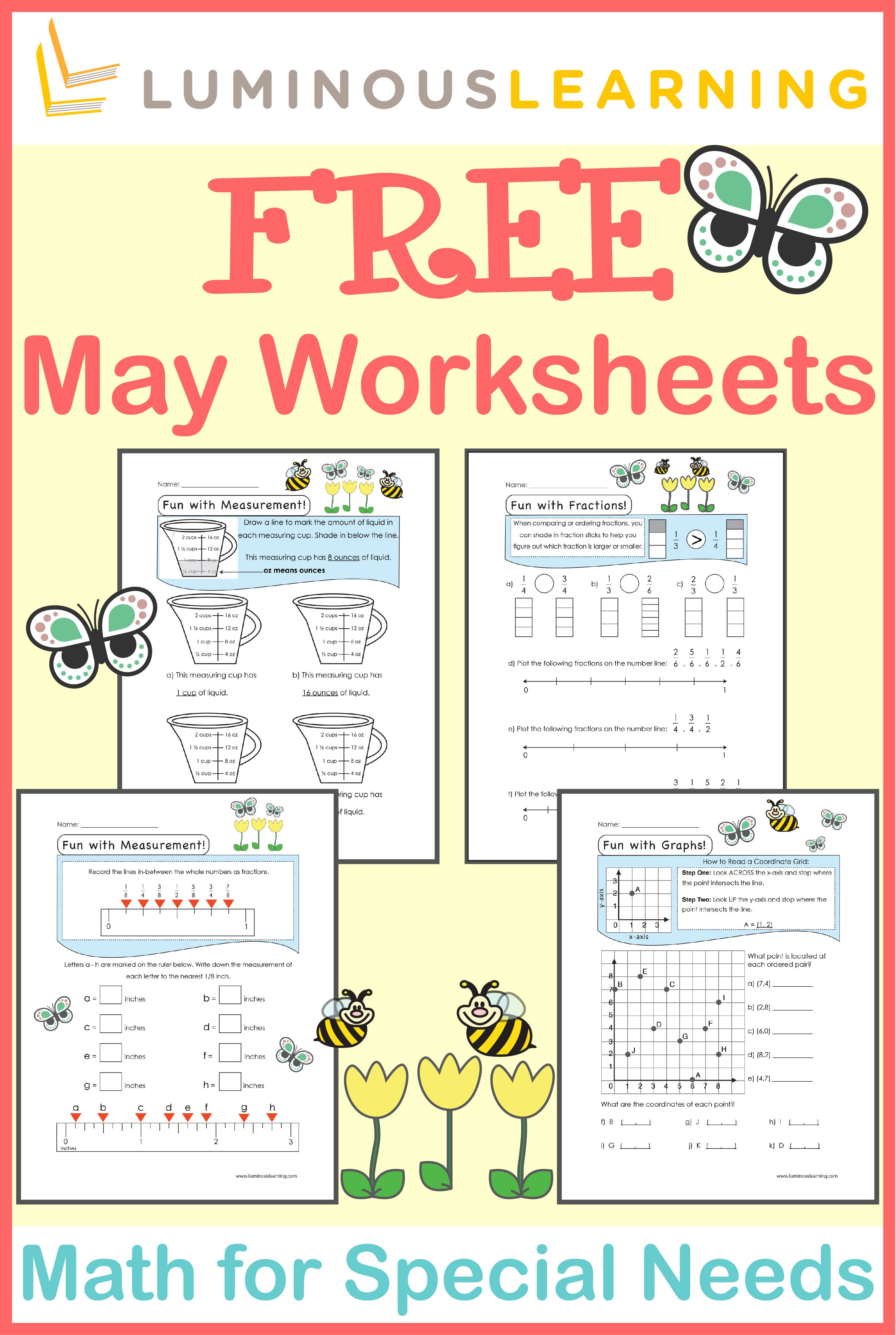 Luminous Learning worksheets are designed with built-in ...