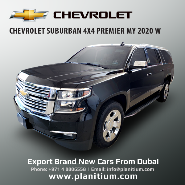Export Chevrolet Suburban 4x4 Premier My 2020 Suv From Dubai In