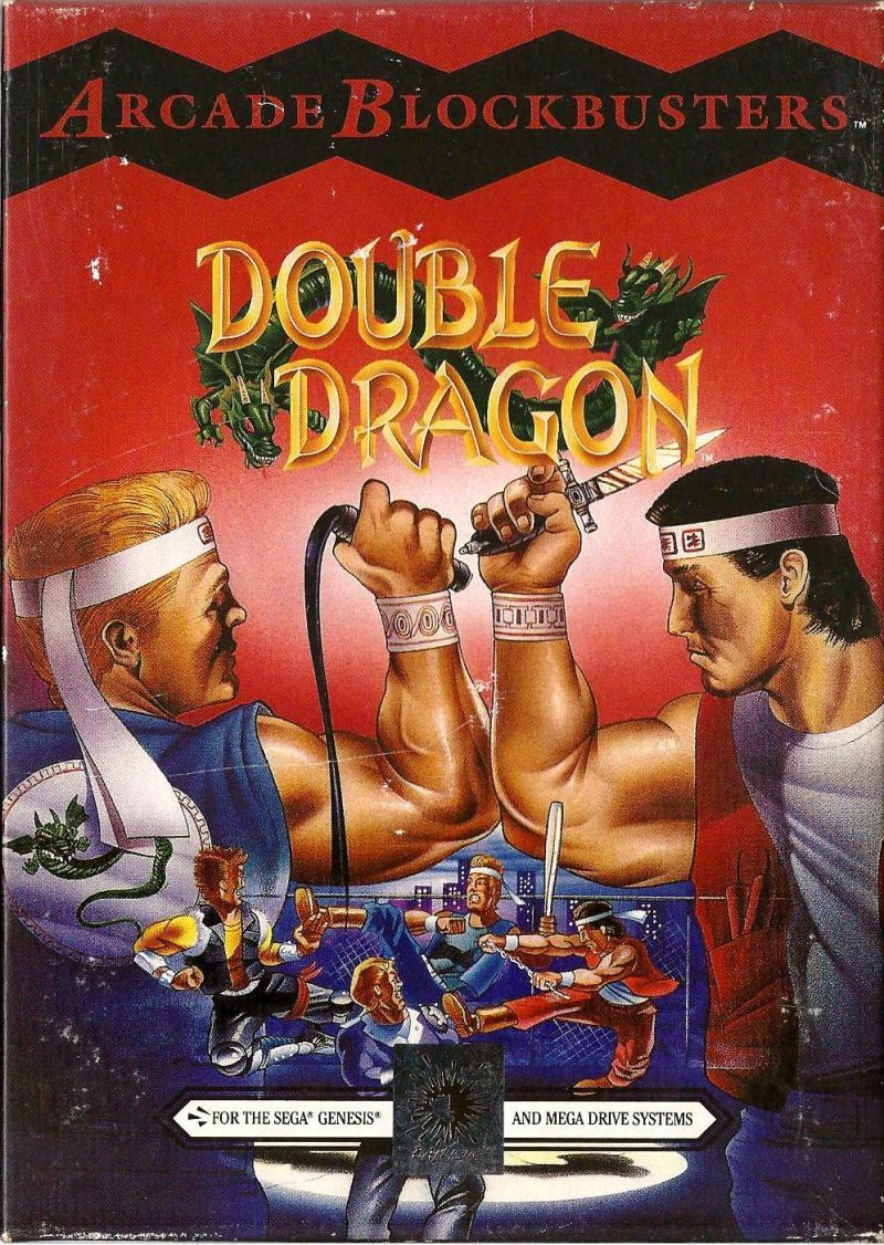 Set In A Post Apocalyptic New York Double Dragon Is The Story Of Billy And Jimmy Lee Twin Brothers Trained In The Fight Double Dragon Sega Sega Genesis Games