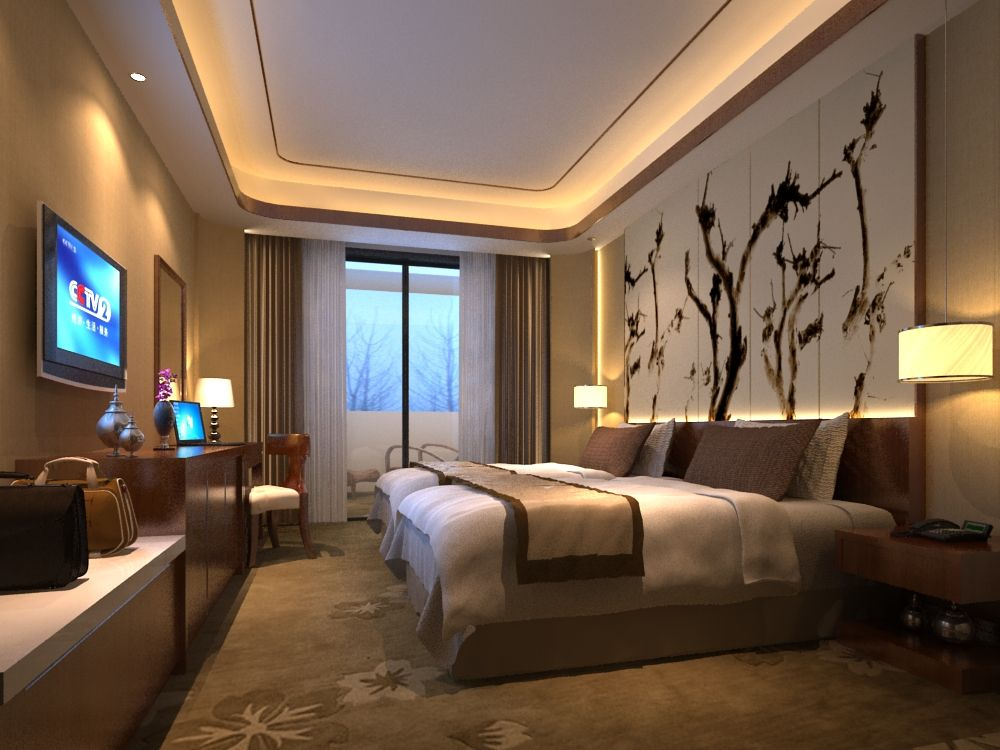 Modern Cozy Bedroom 3d Model Max Cozy Small Bedrooms Cozy Bedroom Bedroom Decor Cozy