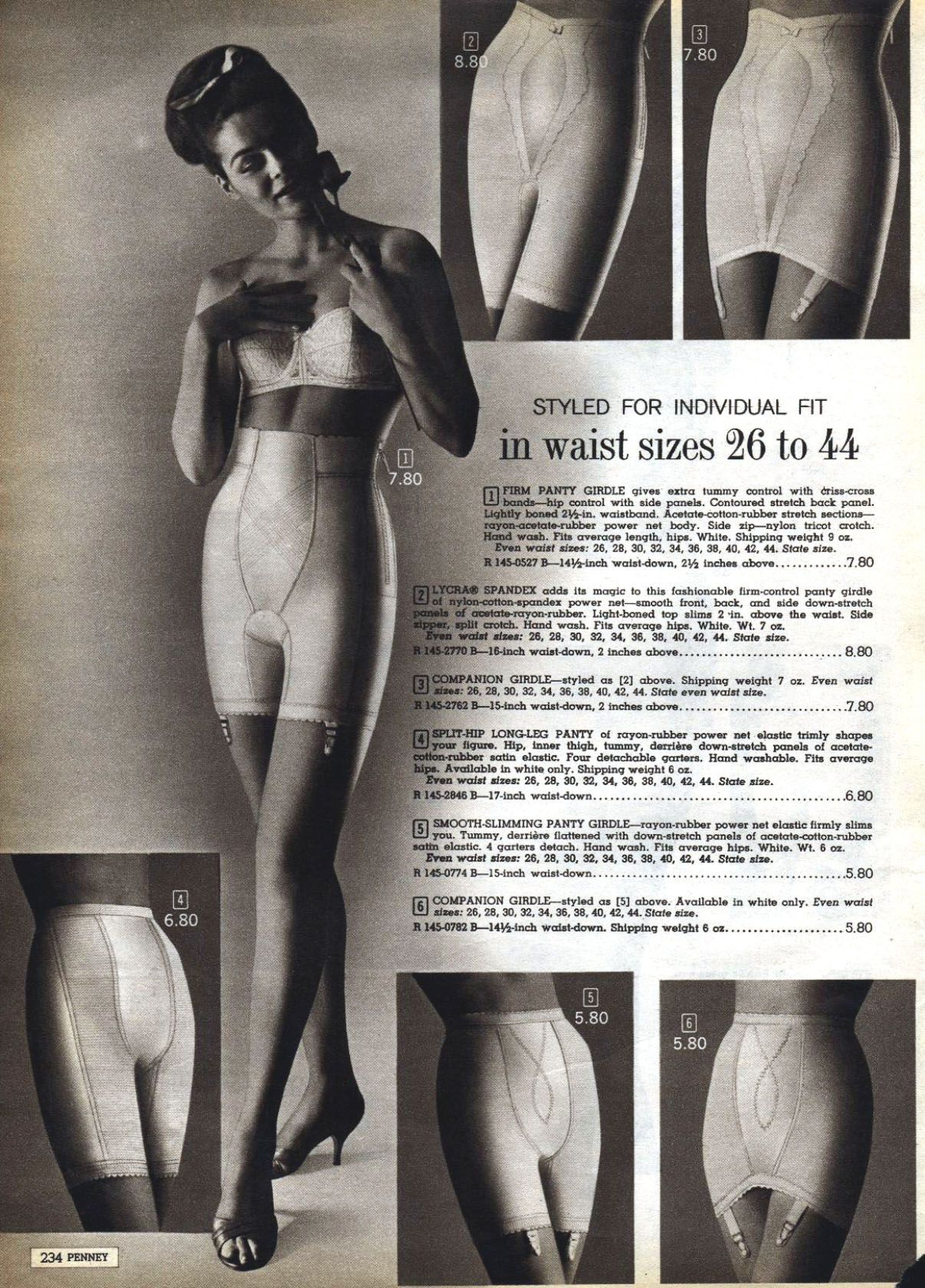 4ab40a85cd677 Even the skinniest girls with a 26 inch waist were required to wear tight  control girdles in my moms era.