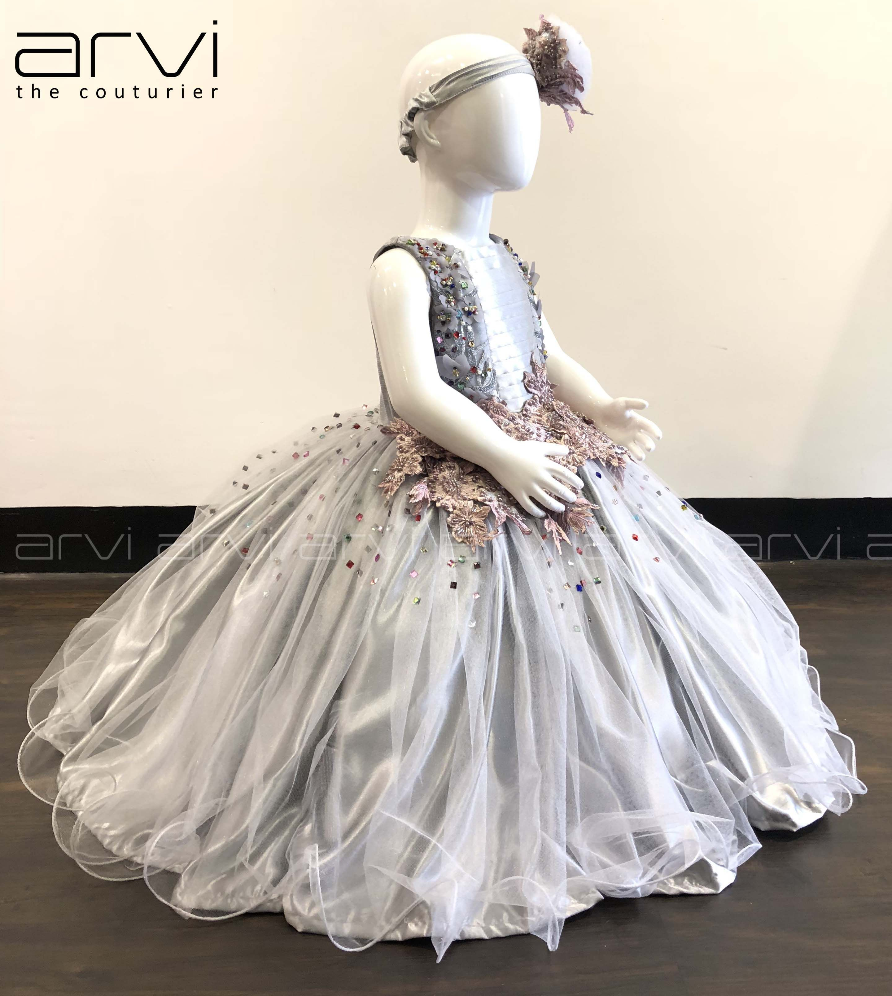 Sale One Year Kid Frock With Free Headband To Buy Contact 8098818882 0422 4347646 Kid Kidfrock O Wedding Dresses Men Indian Kids Frocks Kids Dresses
