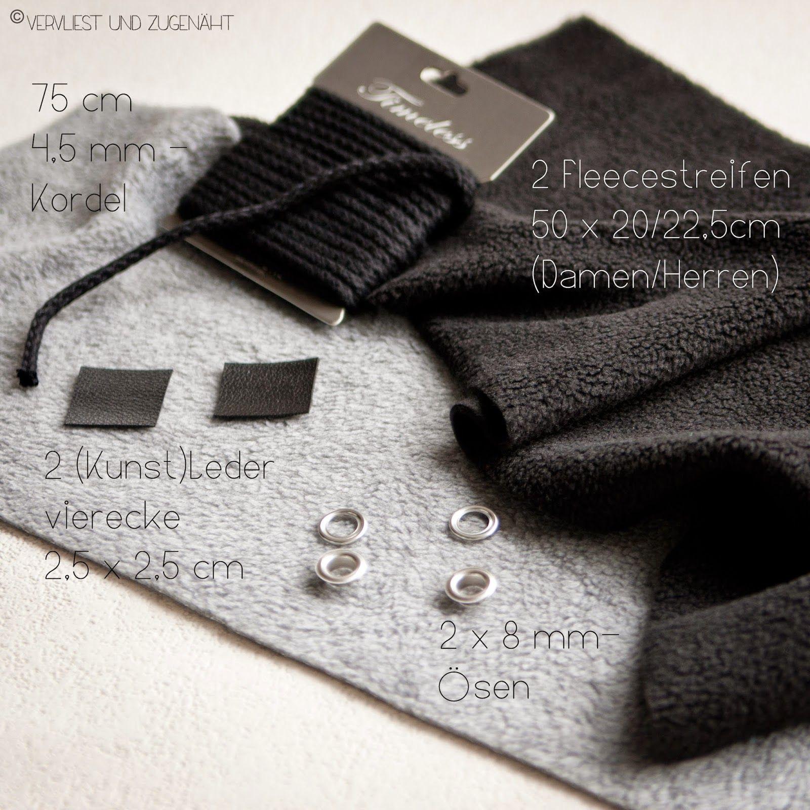 Fleece Loop Schal {Tutorial} | Pinterest | Wissen, Winter und Nähen