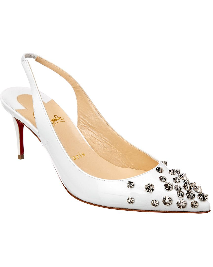 2871ec9868b CHRISTIAN LOUBOUTIN CHRISTIAN LOUBOUTIN DRAMA SLING 70 PATENT PUMP.   christianlouboutin  shoes