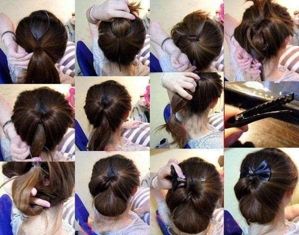 This is cute but wouldn\'t work in hair with lots of layers   Hair ...