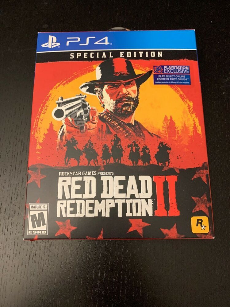 Red Dead Redemption 2 Special Edition Ps4 Open Near Mint Reddeadredemption Gaming Xboxone Red Dead Redemption Red Dead Redemption Ii Redemption