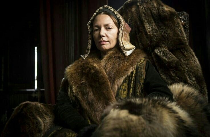 Joanne Whalley as Queen Catherine of Aragon 2015.