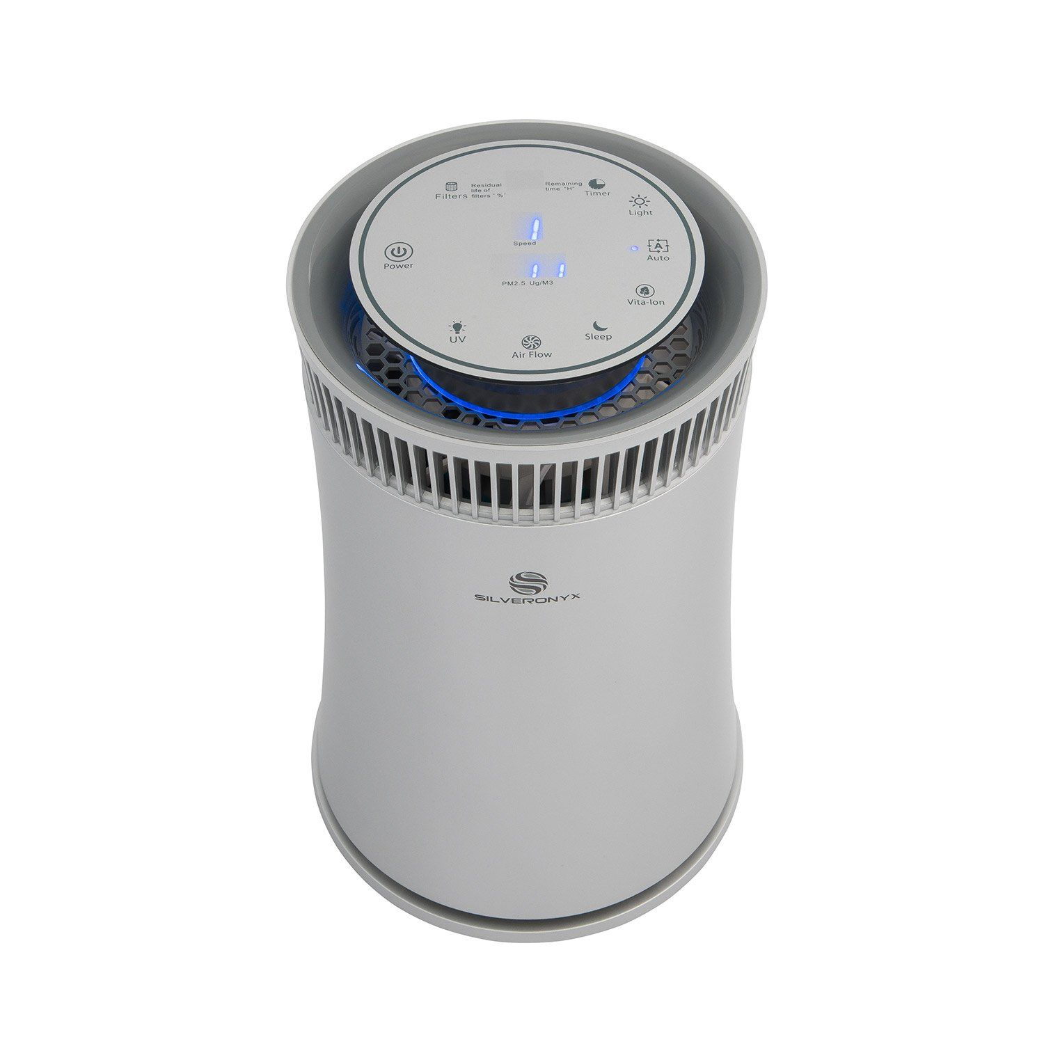 SilverOnyx Air Purifier True HEPA Carbon Filter UV Light