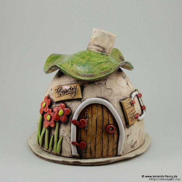 100 700x700 223kb fairy houses pinterest keramik t pferei und duftlampe - Groayes glas weihnachtlich dekorieren ...