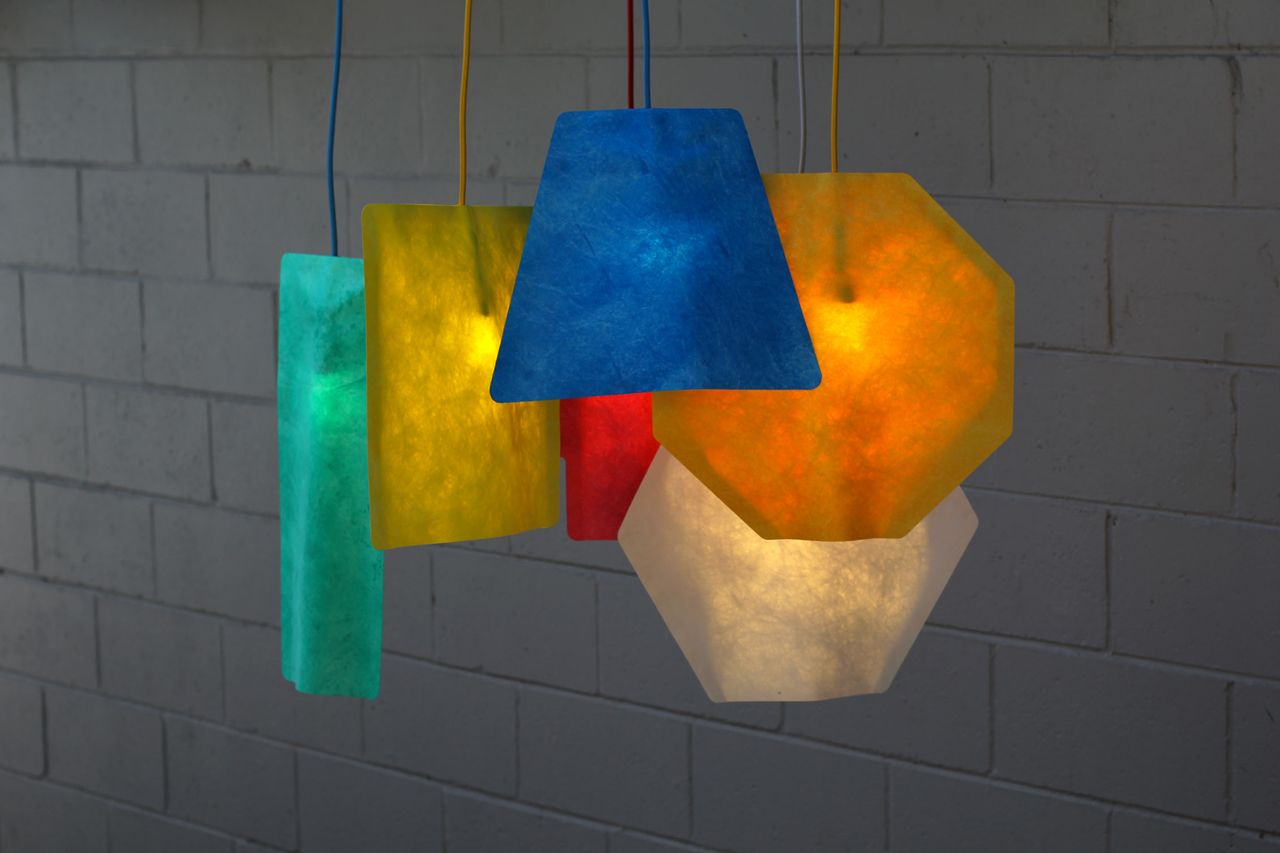 Autumn Products Shapely Pendant Shades Geometric Lamp Lamp