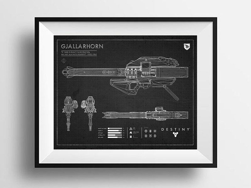 Black hawkmoon blueprint destiny exotic weapon blueprint destiny black hawkmoon blueprint destiny exotic weapon blueprint destiny print exotic weapon wall print weapon blueprint hawkmoon black by loadedprin malvernweather Images