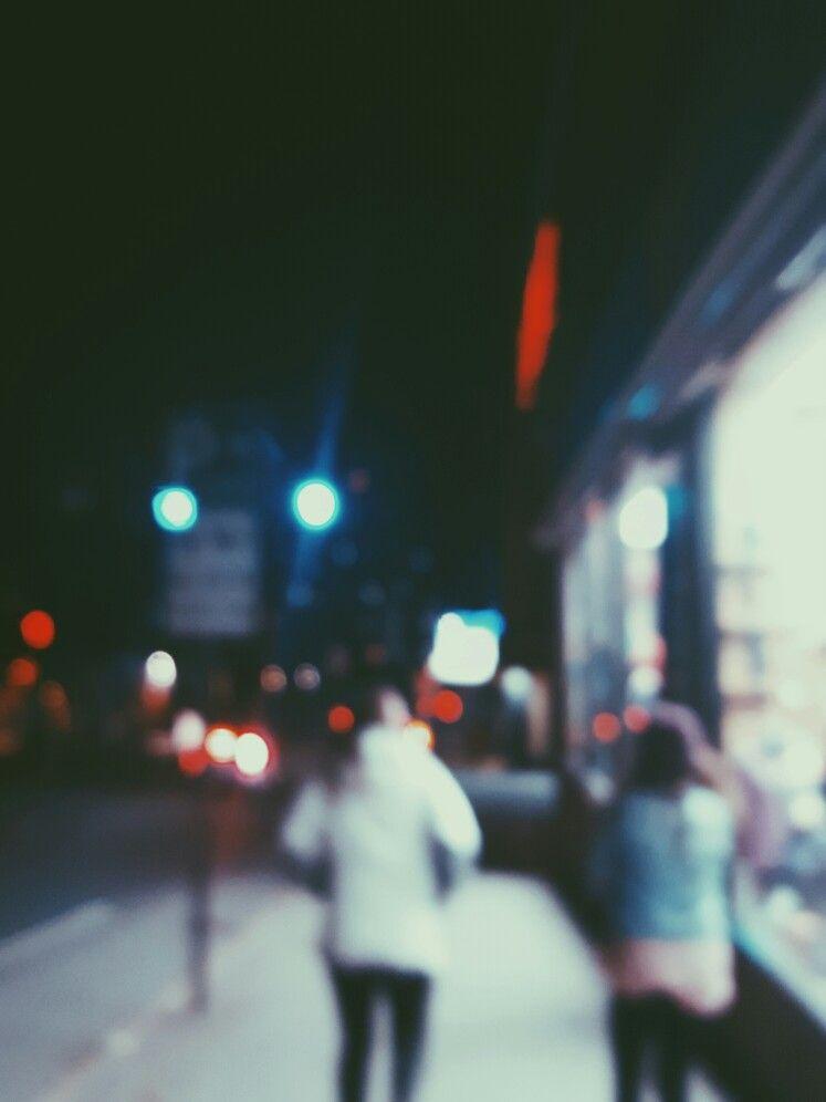 Lights Photography Street Dark Blurry